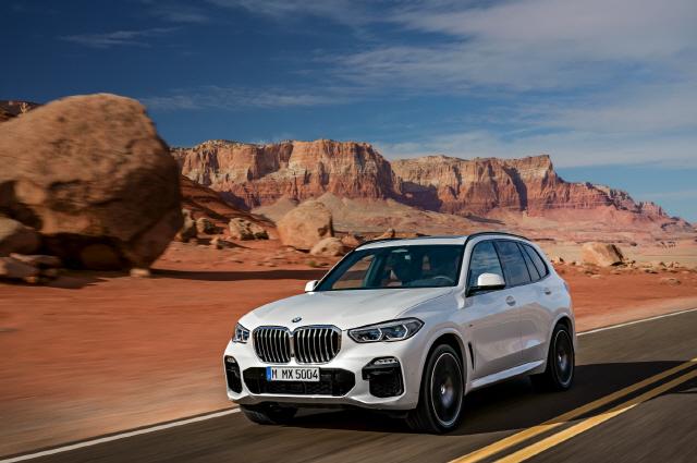 BMW 뉴 X5, 고급 중형 SUV