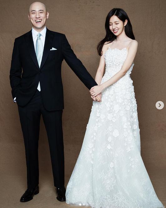 '결혼' 조수애♥박서원, 웨딩화보 공