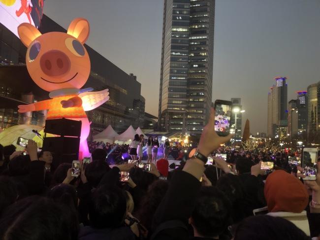 서울 강남구 코엑스 무역센터 전역에서 지난 20일부터 31일까지 12일간 '무역센터 겨울축제 2018'가 열린다.[사진=코엑스 제공]
