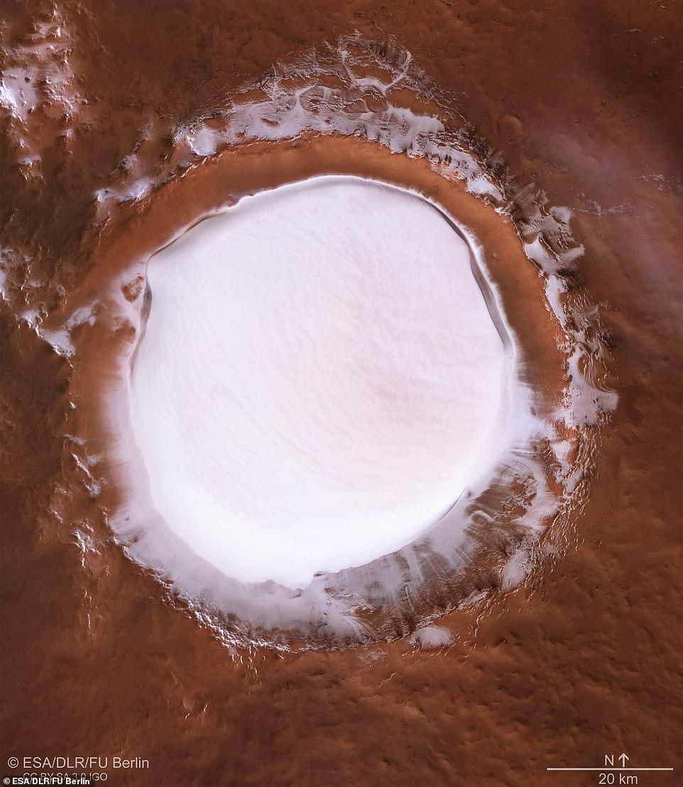 화성에서 온 '크리스마스 카드'…지름