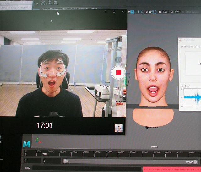 """""""VR 아바타가 내 표정이랑 똑같네!"""