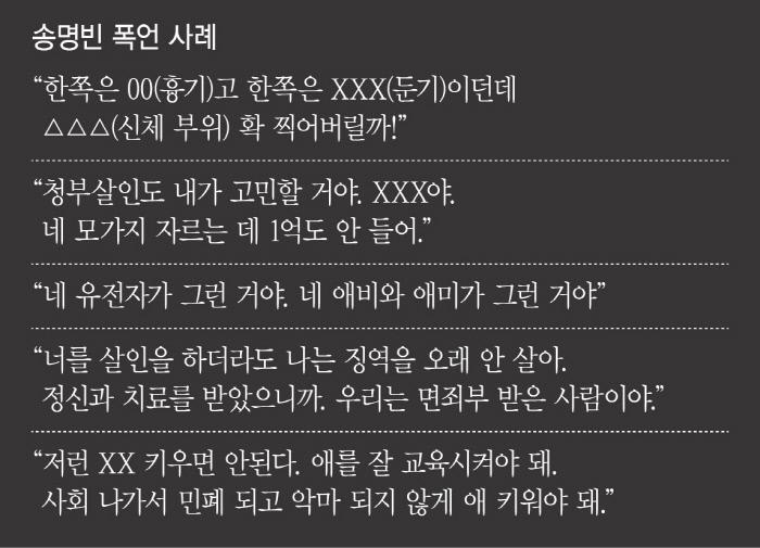 """'잊혀질 권리' 송명빈 """"넌 죽을 때"""