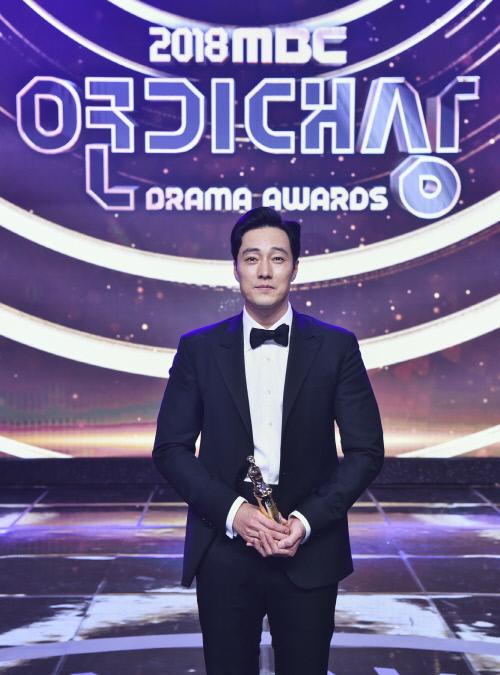 소지섭, MBC 연기대상 대상…데뷔