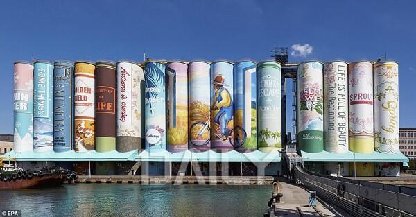 세계에서 가장 큰 벽화가 월미도에?