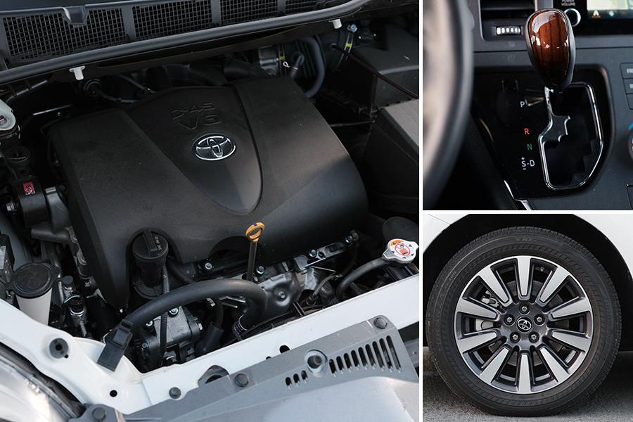 V6 엔진과 AWD를 품은 토요타 시