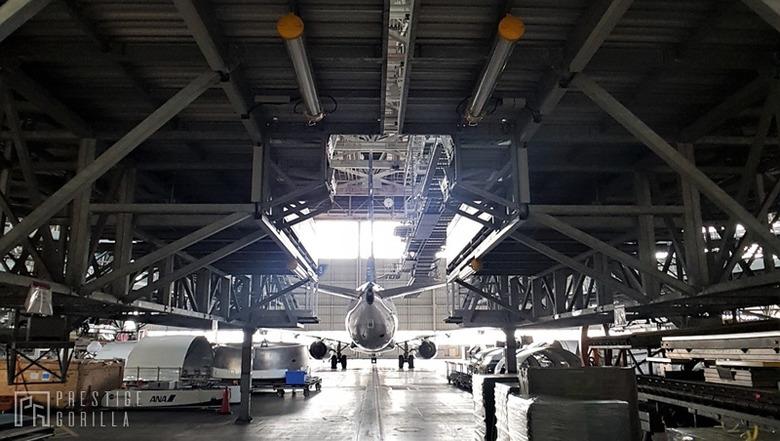 격납고 투어 프로그램 체험기