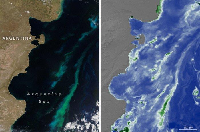 온실가스 늘자 더 파래지는 지구...