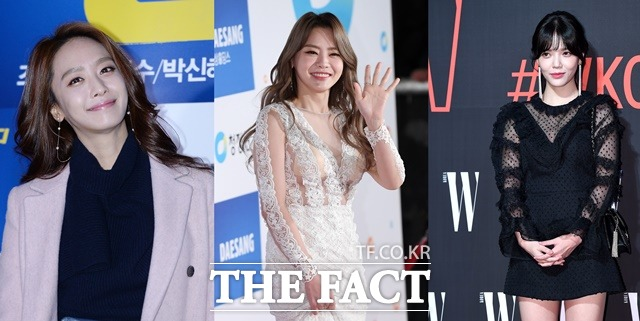 박정아·서유리·지민… 사진 한 장이