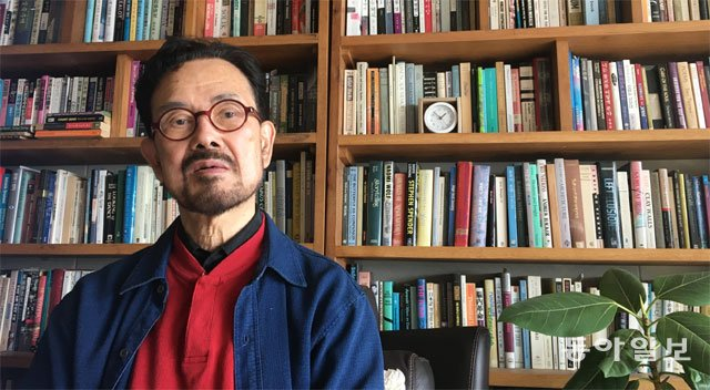"""홍가이 교수 """"한국 단색화, 미학적"""