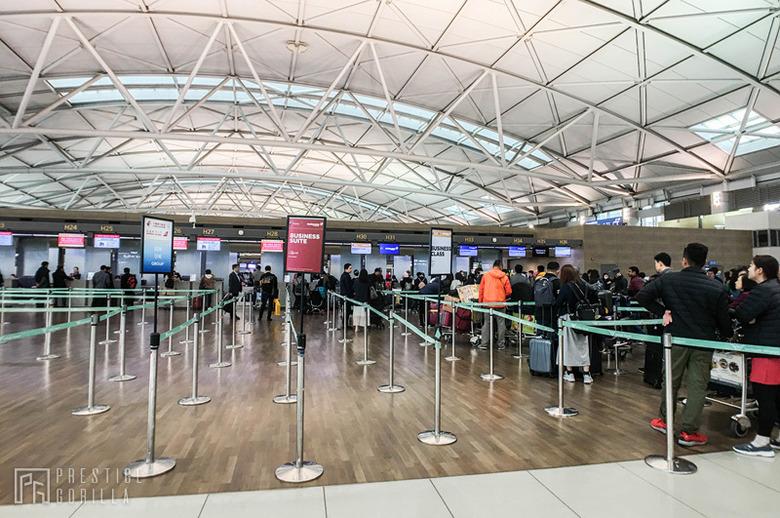 인천-쿠알라룸푸르 비즈니스석 탑승기