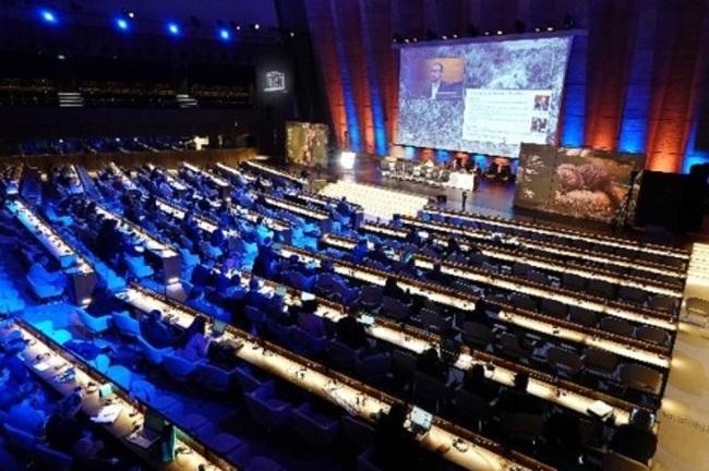 프랑스 파리서 열린 생물다양성과학기구(IPBES) 총회 모습 [환경부 제공]