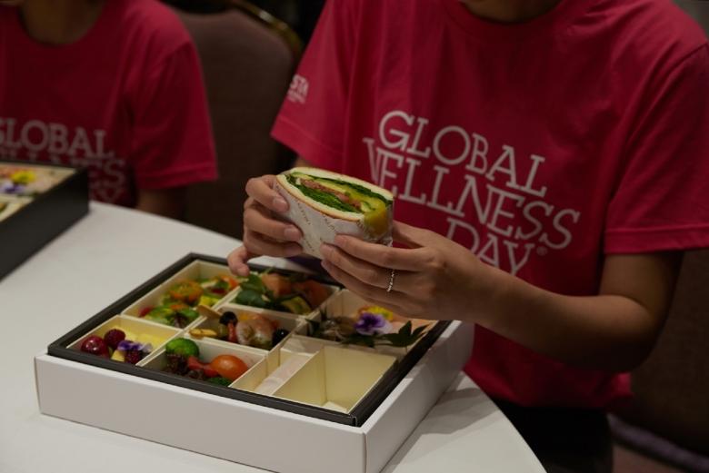지난 8일 비스타 워커힐 서울에서 열린 글로벌 웰니스데이 행사 때 제공된 건강식 [비스타 워커힐 서울 제공]
