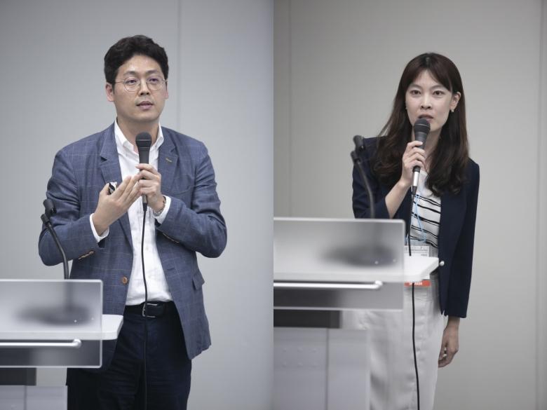 이기원 서울대 교수(좌), 신상아 중앙대 교수(우)