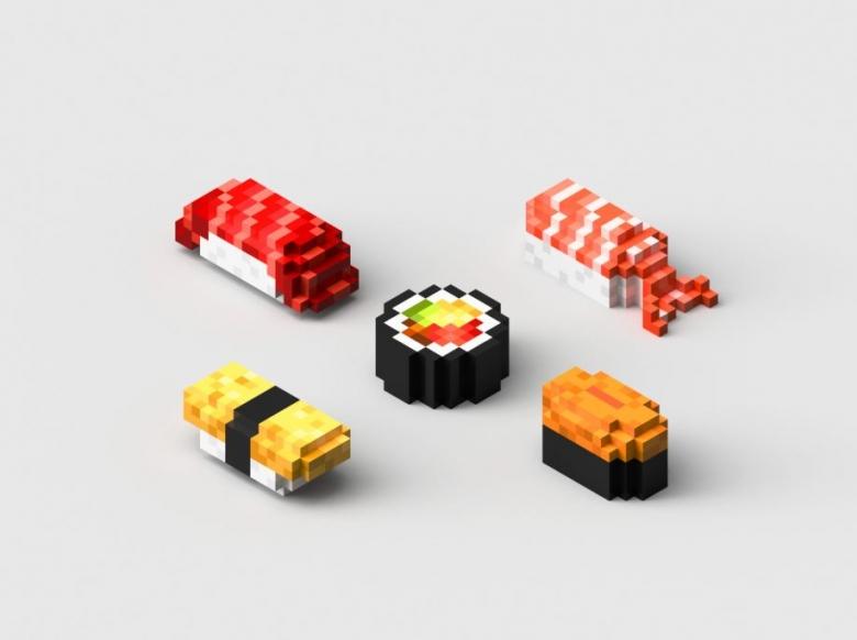오픈밀즈의 3D 초밥