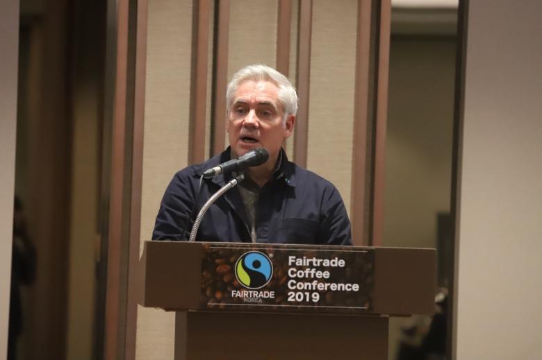 최근 한국을 방문한 피터 케틀러 국제공정무역기구 커피 최고 책임자. [Michael Hurt, HAE Creative 제공]