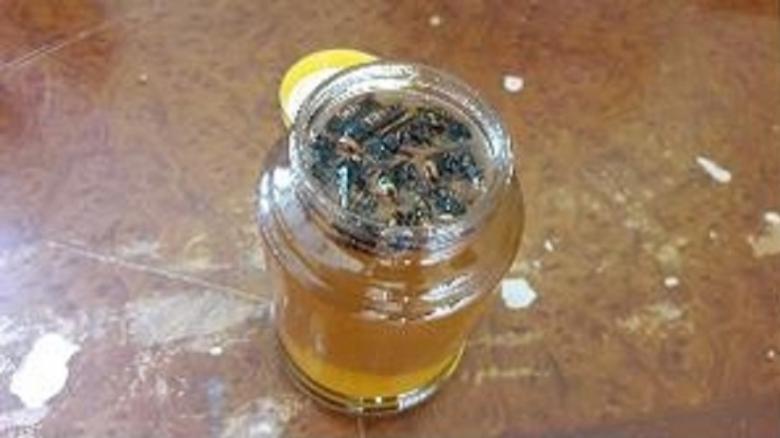 압수한 말벌꿀 [부산식약청 제공]