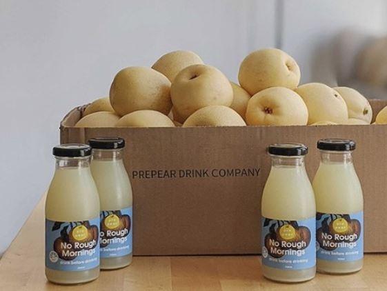 한국산 배를 수입해 호주에서 생산한 배 음료