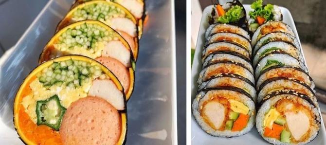 베트남에서 현지화된 김밥