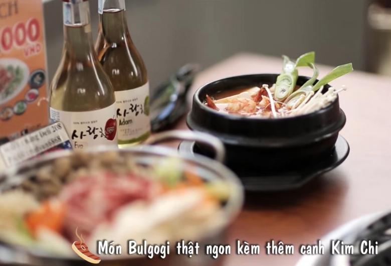 베트남 현지업체가 설립한 한식 프랜차이즈 'King BBQ' 홍보 동영상 [사진=유튜브]