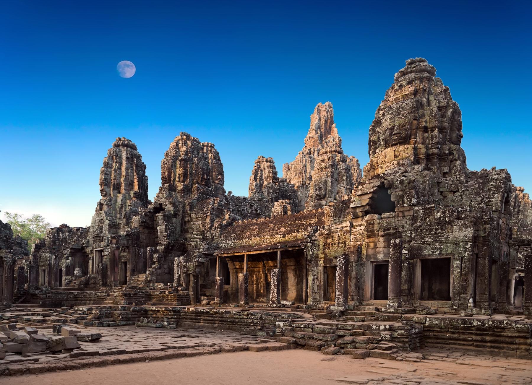 World's oldest cities: Angkor Wat