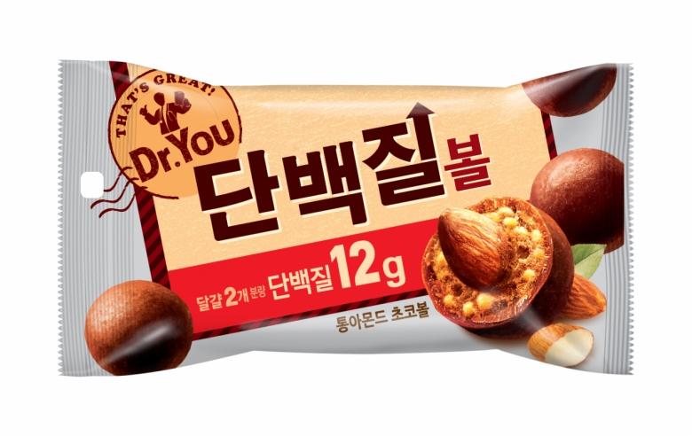 오리온 '닥터유 단백질볼' 제품 [사진=오리온]