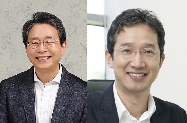 (왼쪽부터)배승철 교수(부경대학교 FAO-세계수산대학), 황일두 교수(포항공과대학교 생명과학과)