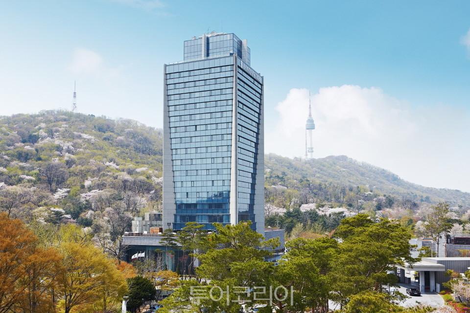 반얀트리 서울 봄풍경