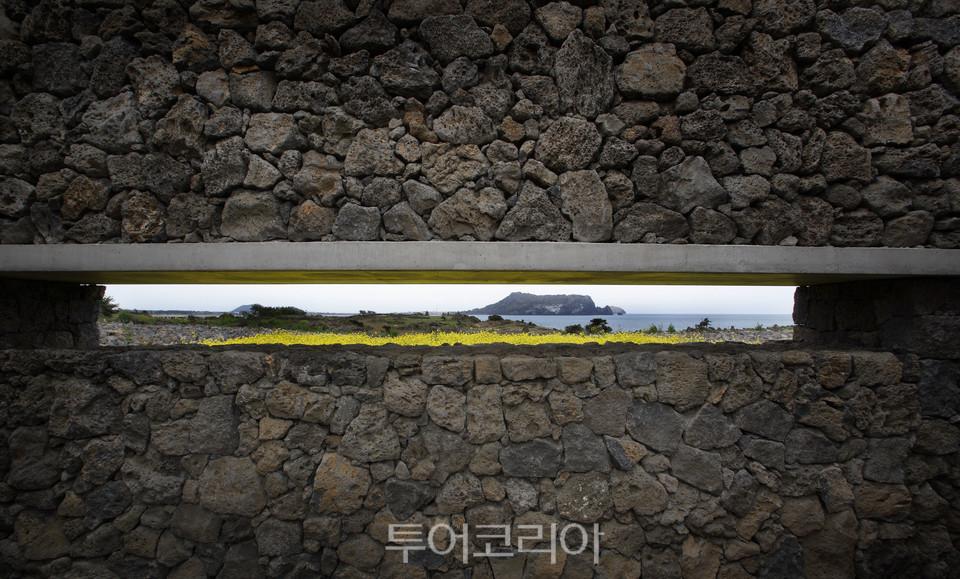 휘닉스 제주 섭지코지 유민미술관 포토존