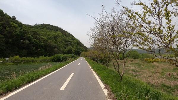 용진교를 지나 2코스로 이어진다.