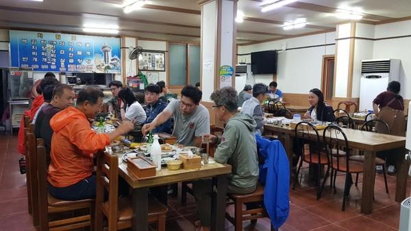 작년, 본동기사식당의 KHT 참가자들