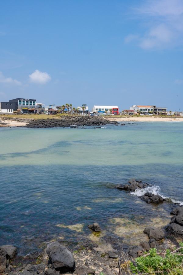 외국의 휴양지를 연상케 하는 하고수동 해수욕장의 여름