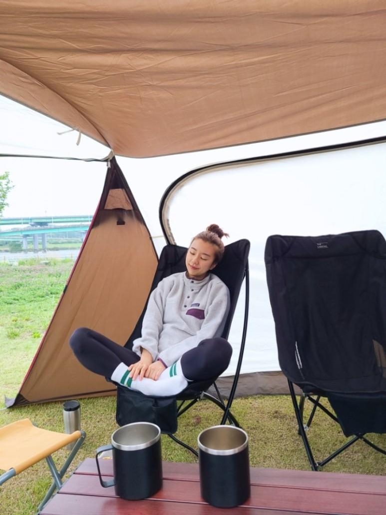 캠핑하는 유랑쓰
