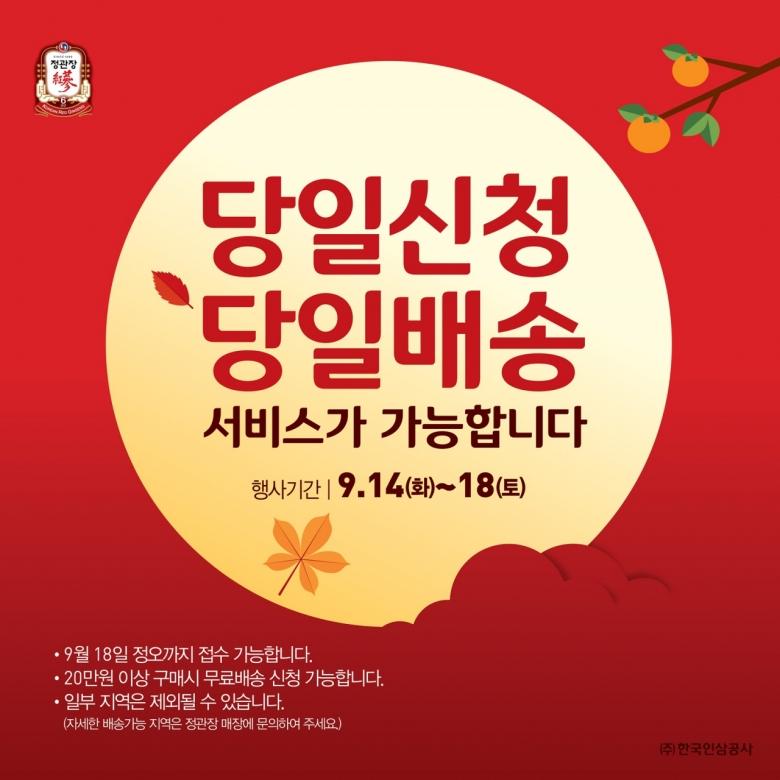 [정관장 제공]