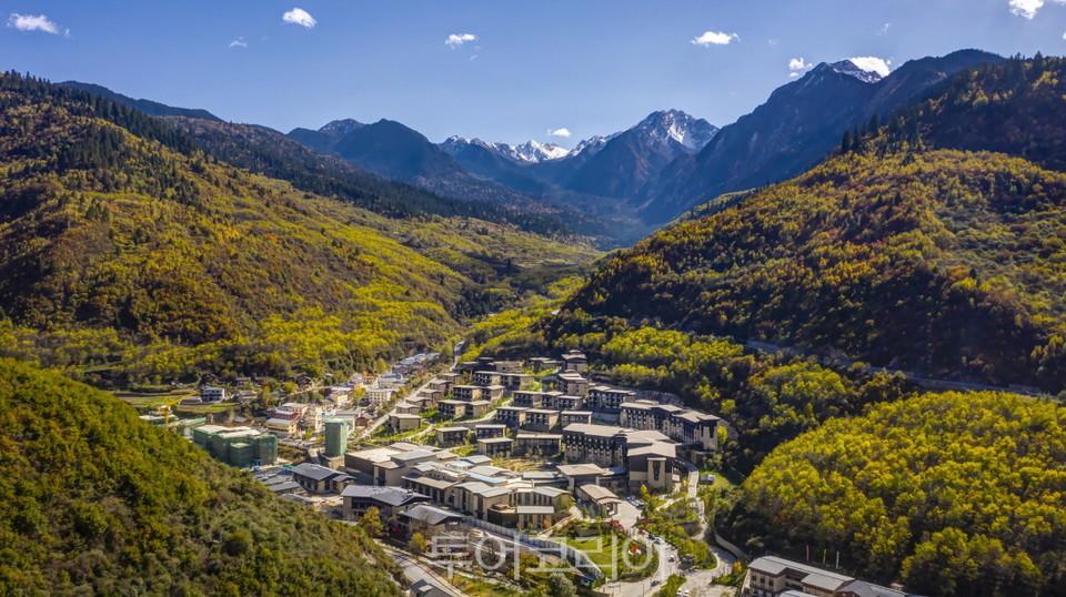 중국 주자이거우 국립공원